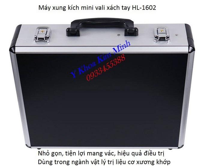 May xung kich mini nho gon dung trong nganh vat ly tri lieu co xuong khop HL-1602 - Y Khoa Kim Minh