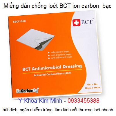 BCT ion carbon bạc - Miếng dán chống lỡ loét người bệnh tai biến nằm liệt giường lâu ngày - Y Khoa Kim Minh