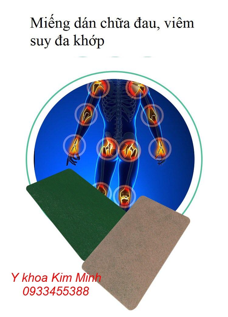 Miếng dán chữa suy đau đa khớp viêm khớp dạng thấp - Y khoa Kim Minh