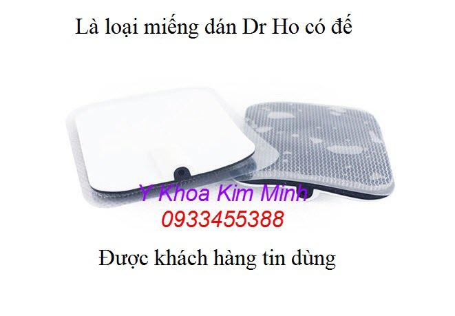 Miếng dán máy Dr Ho loại nhỏ 4x6cm - Y khoa Kim Minh