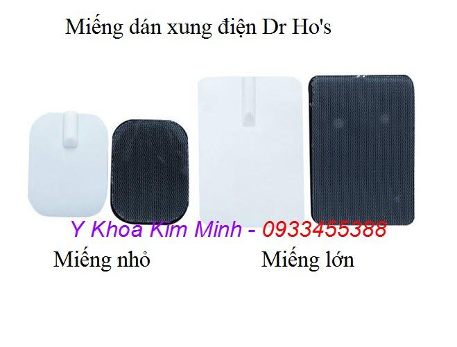 Miếng dán xung điện loại lớn của máy Dr Ho - Y khoa Kim Minh