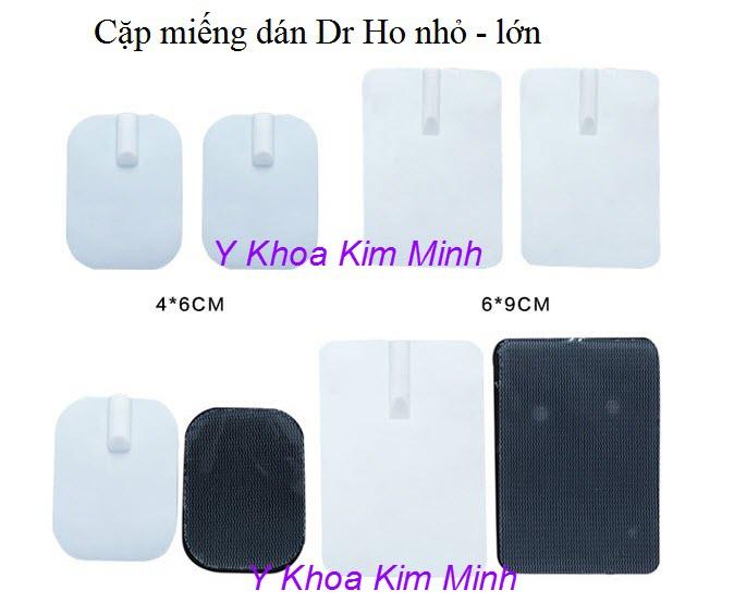Cặp miếng dán xung điện dùng cho máy Dr Ho chính hãng Bestbuy - Y Khoa Kim Minh