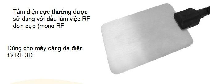 Tấm điện cực âm của máy căng da điện từ RF 3D KL-99 - Y Khoa Kim Minh