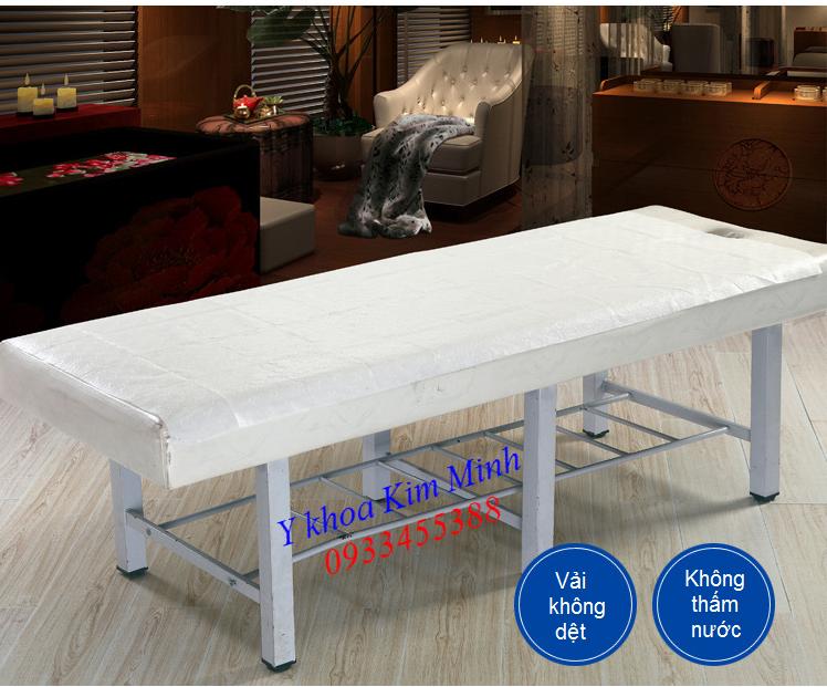 Miếng vải không dệt 80x180cm lót giường massage spa dùng tắm trắng giảm béo - Y khoa Kim Minh 0933455388
