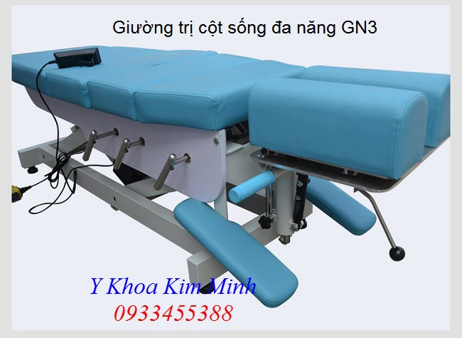 Mua giường trị thoát vị đĩa đệm, đau cột sống lưng cổ bán tại TP Hồ Chí Minh - Y Khoa Kim Minh