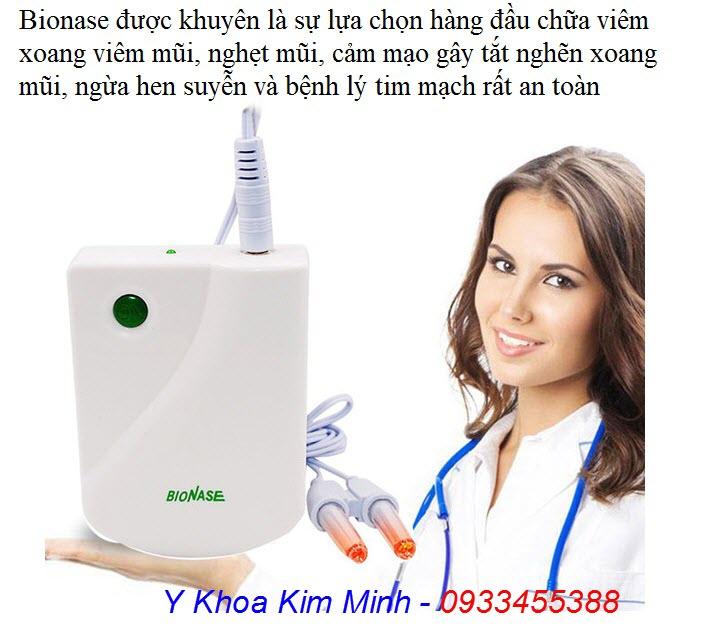 Máy chữa viêm xoang viêm mũi dị ứng Bionase bán tại Tp.HCM - Y Khoa Kim Minh