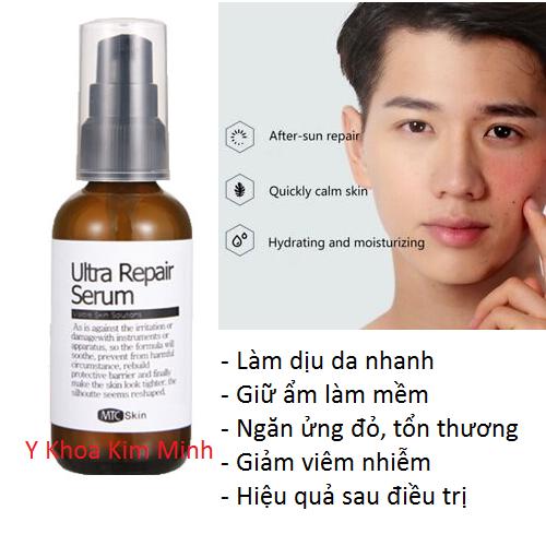 Mỹ phẩm Hàn Quốc Ultra Repair Serum, sử dụng ngăn tổn thương da sau điều trị - Y khoa Kim Minh