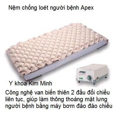 Nệm hơi chống loét lưng Apex Excel 2000 Tây Ban Nha - Y Khoa Kim Minh