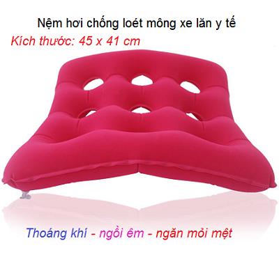 Nệm hơi lót xe lăn y tế chống loét mông - Y Khoa Kim Minh