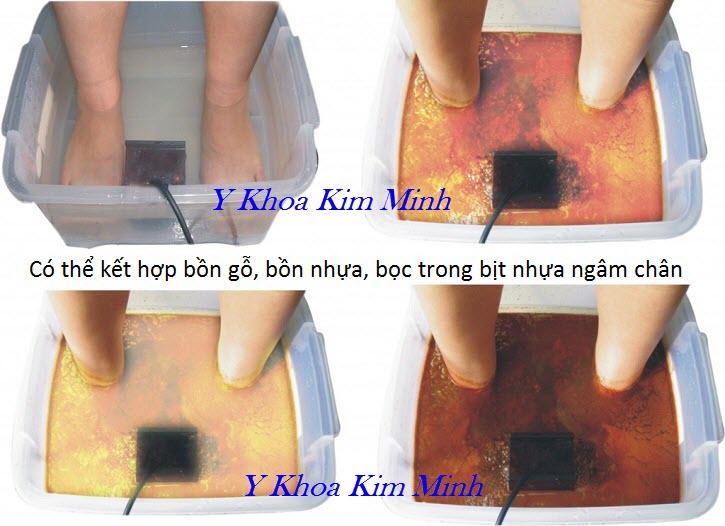Dùng máy ion thải độc ngâm chân hàng ngày chứng minh là tốt cho sức khoẻ - Y Khoa Kim Minh