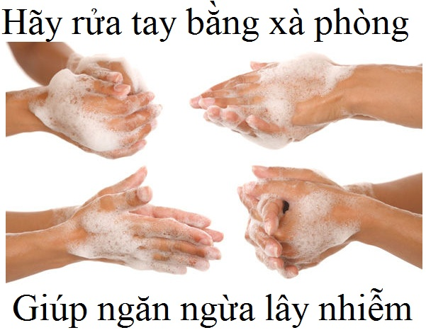 Rửa tay đúng cách với xà phòng và nước sạch giúp ngăn ngừa lây nhiễm virus Covid-19 - Y Khoa Kim Minh