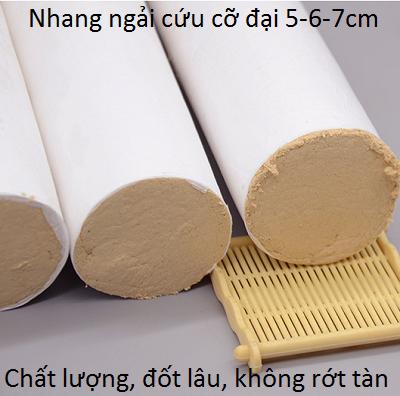 Nhang ngải cứu cỡ đại kích thước 5cm, 6cm, 7cm - Y Khoa Kim Minh