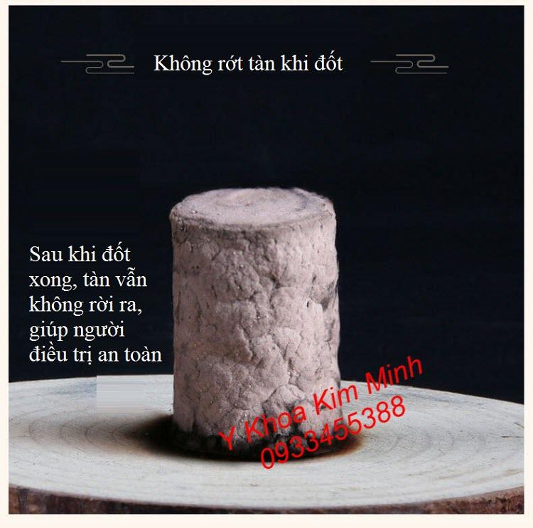 Nhang ngai cuu dieu ngang khi dot su dung khong rot tan - Y khoa Kim Minh
