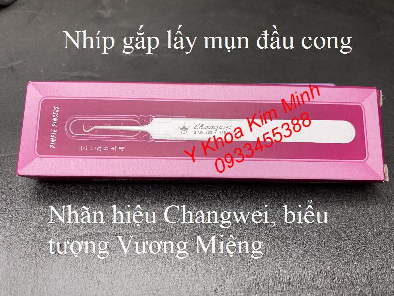 Nhíp gắp lấy mụn Changwei Nhật Bản - Y khoa Kim Minh