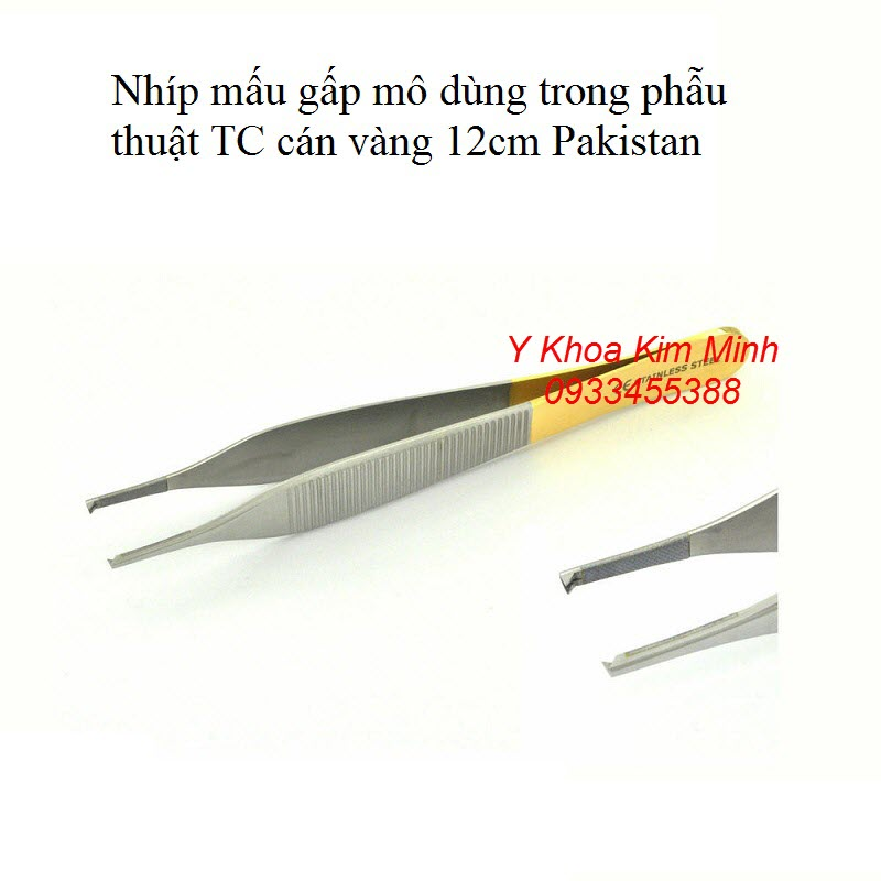 Nhíp có mấu 12cm Tungsten Paskitan bán tại Tp.HCM - Y khoa Kim Minh