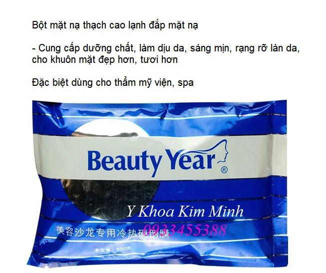 Noi ban bot mat nat thach cao dong cung dang lanh dap mat na cham soc da - Y khoa Kim Minh
