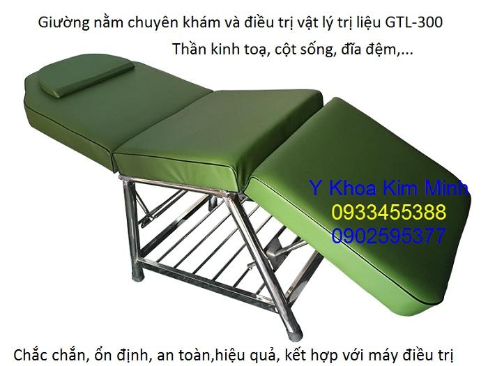 Giuong nam dieu tri va kham benh vat ly tri lieu, co xuong khop GTL-300 - Y khoa Kim Minh