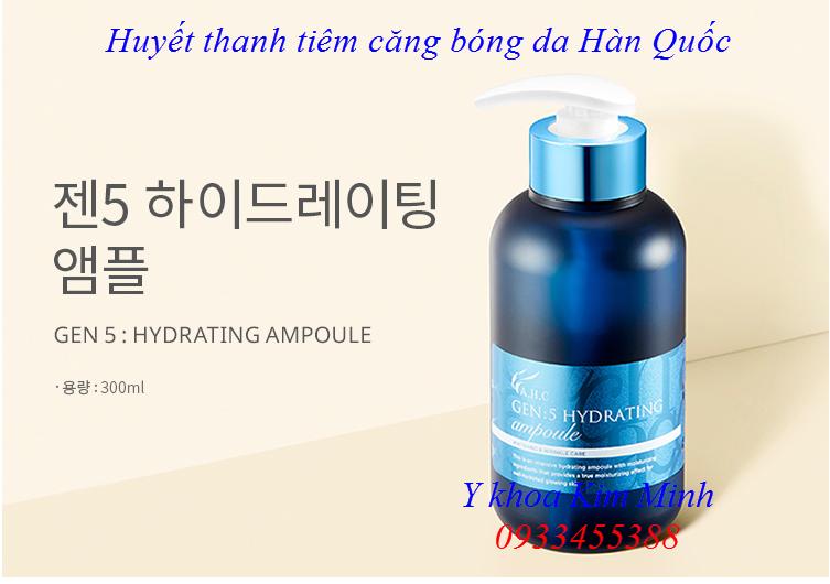 AHC Gen 5 Hydrating Ampoule huyet thanh tiem cang bong da Han Quoc 300ml - Y khoa Kim Minh