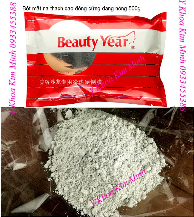 Hot Hard Mold Mask Powder, mat na thach cong dong cung lam trang min da nhanh - Y khoa Kim Minh