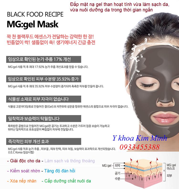 Noi cung cap ban mat na gel than hoat tinh Han Quoc Purederm Korea - Y Khoa Kim Minh 0933455388