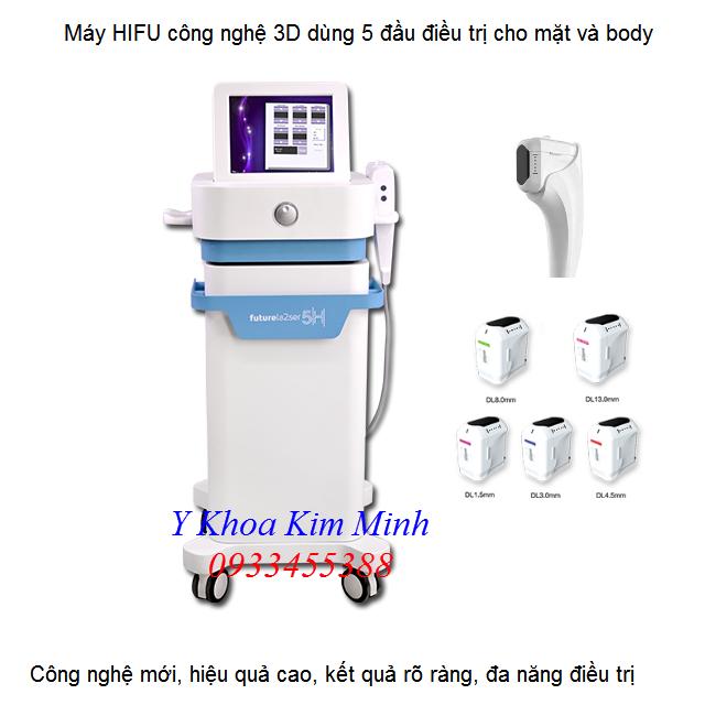 Nơi bán máy HIFU 3D 5 đầu điều trị tại Tp Hồ Chí Minh - Y Khoa Kim Minh