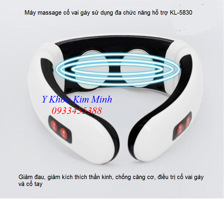 Noi ban may massage chua dau co vai gay KL-5830 - Y khoa Kim Minh 0933455388