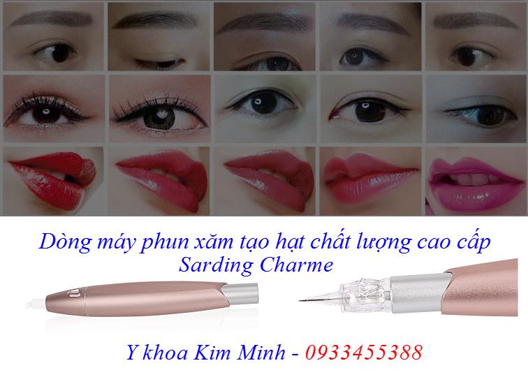 Dòng máy phun xăm tạo hạt tán chân mày cao cấp Sarding Charme - Y khoa Kim Minh 0933455388