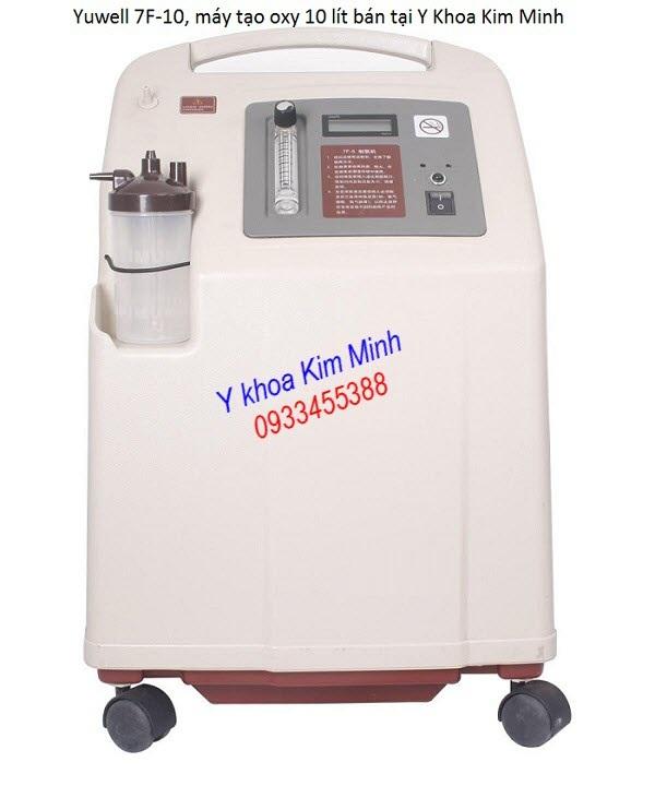 May tao oxy y te 10 lít Yuwell 7F-10 bán tại Tp Ho Chi Minh - Y Khoa Kim Minh
