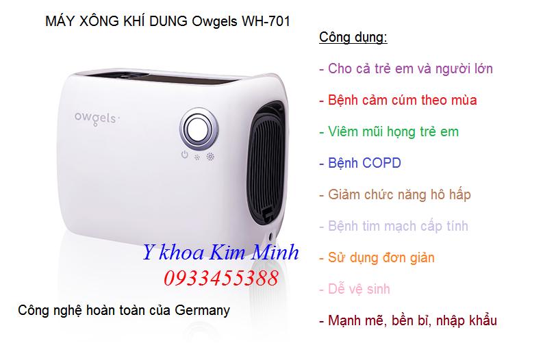Noi ban may xong mui hong COPD cua Đức Owgels WH-701 - Y Khoa Kim Minh 0933455388