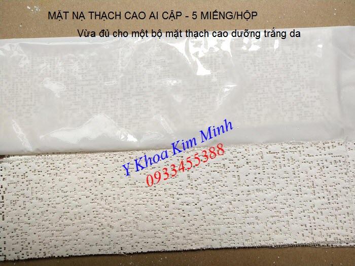 Nơi bán mặt nạ thạch cao Ai Cập đắp dưỡng trắng sáng chống lão hóa - Y khoa Kim Minh 0933455388