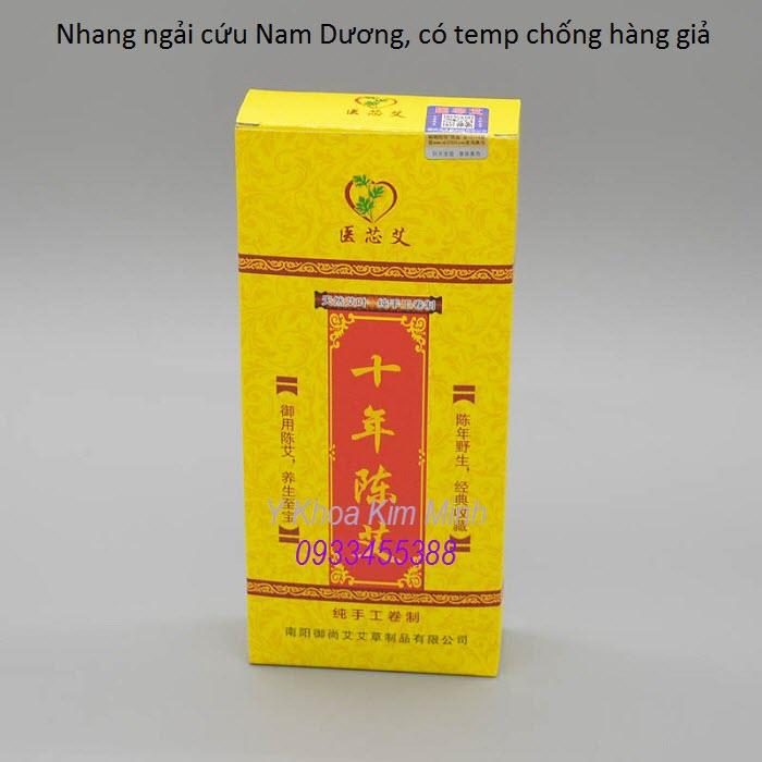 Nhang ngai cuu dot tri lieu giam dau co xuong khop san xuat tai Trung Quoc - Y Khoa Kim Minh
