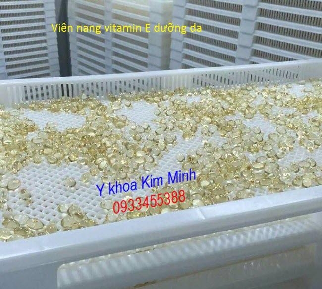Dia chi ban vien vitamin E chuyen dung duong trang sang da mat - Y khoa Kim Minh