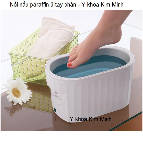 Nồi nấu ủ sáp paraffin ngâm tay chân - Y Khoa Kim Minh