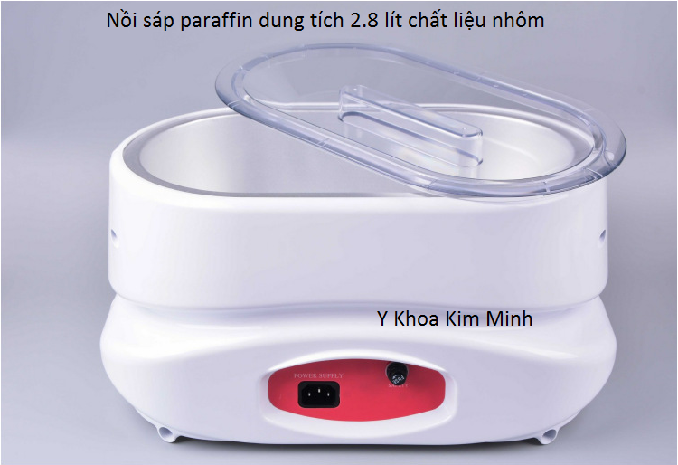 Nồi sáp paraffin chuyên ngâm chân tay YM-8002 - Y Khoa Kim Minh