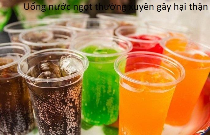 Uống nước ngọt có ga, nước ngọt giải khát thường xuyên có nguy cơ làm hỏng thận - Y khoa Kim Minh