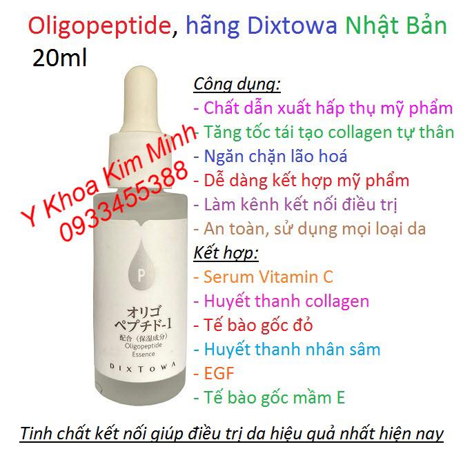 Tinh chất Oligopeptide Dixtowa Nhật Bản có công dụng gì để chăm sóc da hiệu quả?