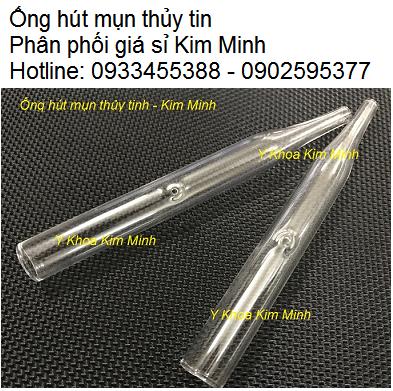 Ống hút nhờn hút mụn thủy tinh bán tại Tp Hồ Chí Minh - Y Khoa Kim Minh 0933455388
