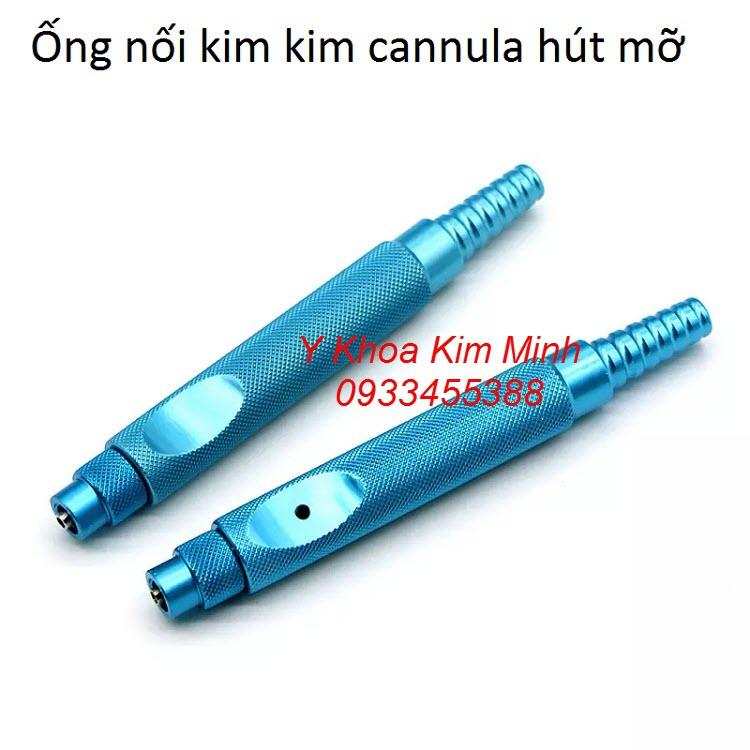Ống nối kim loại với kim cannula hút mỡ - Y khoa Kim Minh