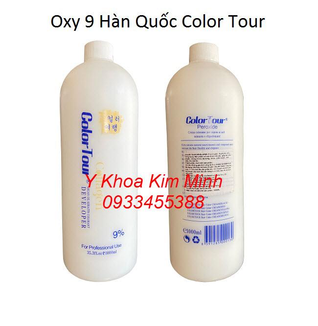 Oxy 9 trong bộ sét tắm trắng da body dùng tại Spa, Thẩm mỹ viện