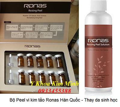 Bộ peel Ronas Han Quoc chuyen dung thay da sinh hoc tai tao da - Y khoa Kim Minh
