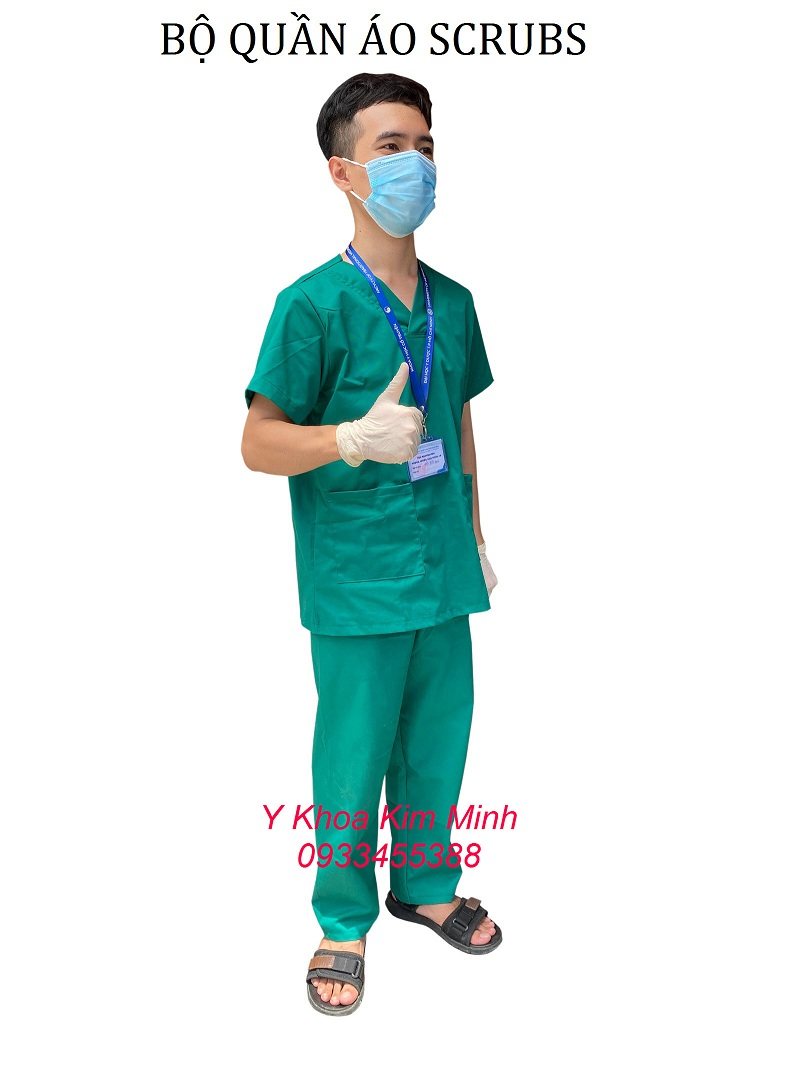 Quần áo nhân viên y tế bệnh viện Scrubs