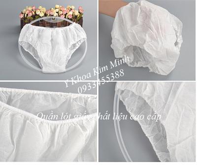 Quần lót  giấy tắm trắng Spa - Y Khoa Kim Minh