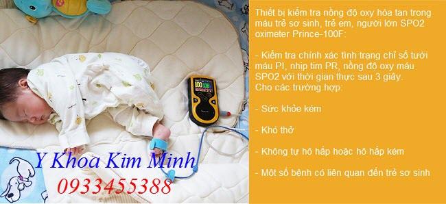 SPO2 trẻ sơ sinh - Y Khoa Kim Minh 0933455388
