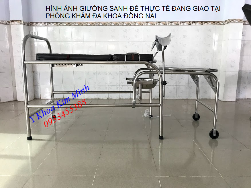 Noi san xuat giuong sanh de y te inox tai Tp Ho Chi Minh - Y khoa Kim Minh 0933455388