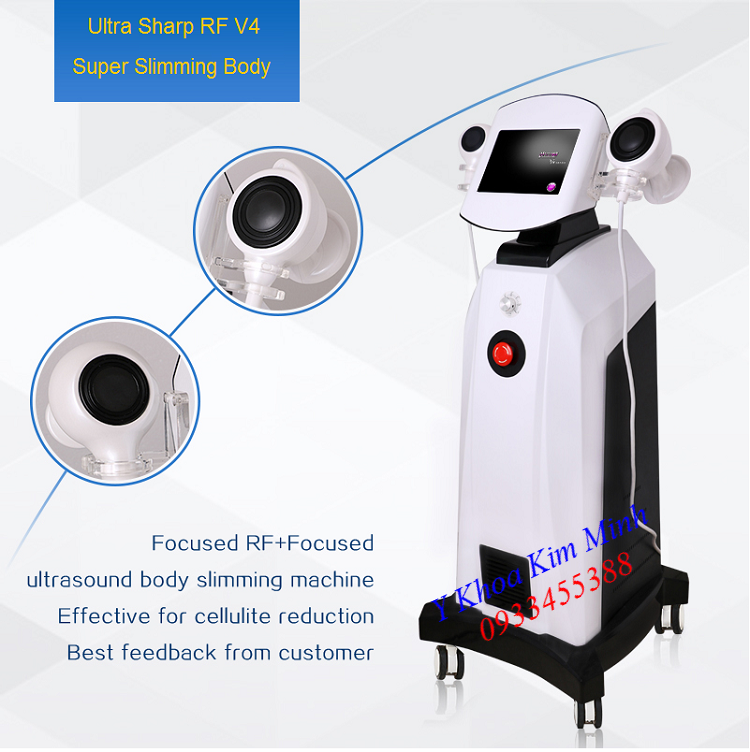 Super Slimming Body Ultra Sharp RF V4 Machine - Y Khoa Kim Minh 0933455388