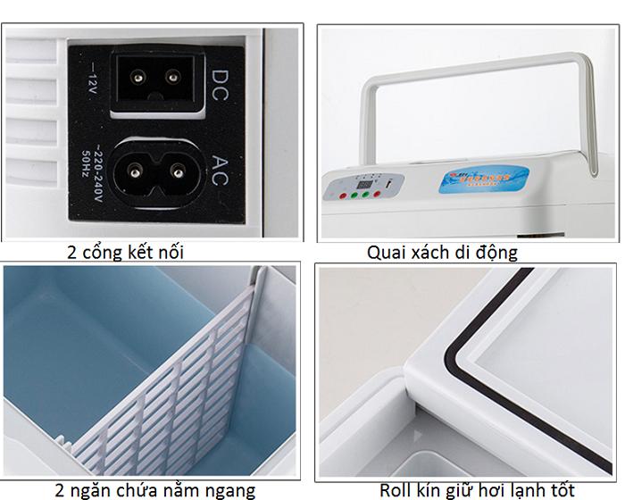 Thông tin sản phẩm tủ giữ lạnh mỹ phẩm thuốc y tế di động - Y Khoa Kim Minh