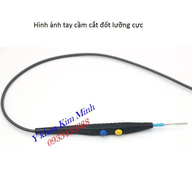 Tay cầm dao cắt đốt dùng cho máy cắt đốt cao tần loại thay thế dao đốt - Y khoa Kim Minh