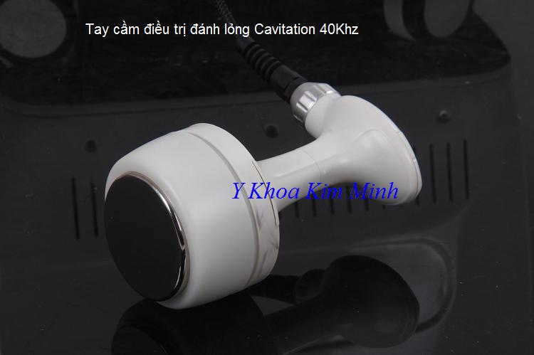 Tay cầm điều trị giảm béo Cavitation 40K máy Ultra Velashap V10 - Y khoa Kim Minh 0933455388