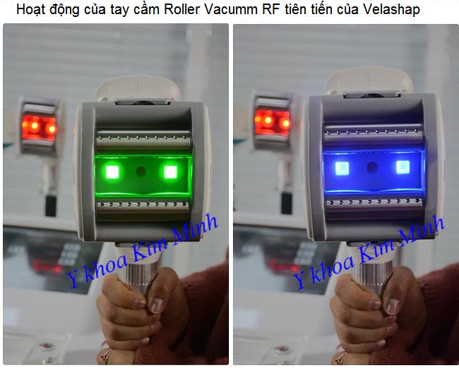 Tay cam dieu tri giam beo va dieu khac body cua may giam beo V-Nine Velashap - Y khoa Kim Minh