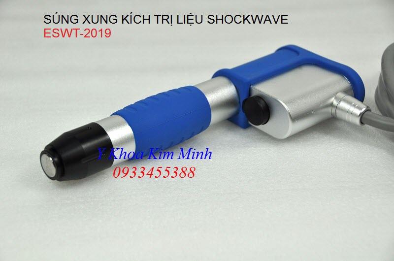 Súng điều trị của máy shockwave EWST - Y khoa Kim Minh 0933455388